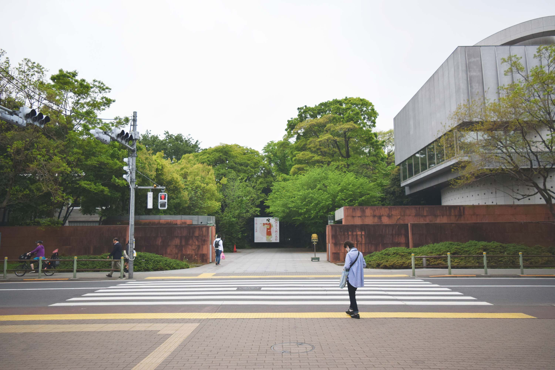 東京藝術大学上野校地に到着!!